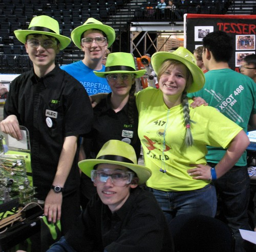 Team 3491 at FTC State Championships