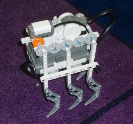 Как сделать шагающего робота из лего